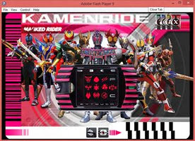 Kamen Rider Decade Flash Game v 2.0