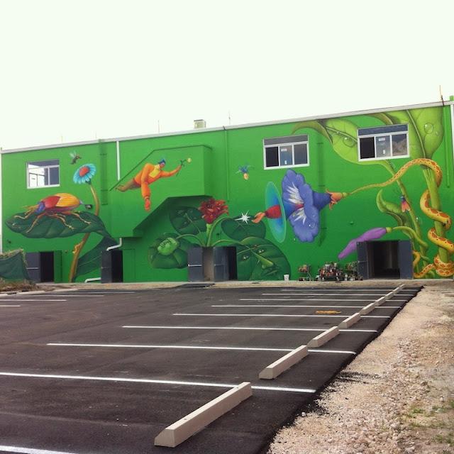 Street Art By Ukrainian Artists Interesni Kazki On The Streets Of Miami For Art Basel '13. 3