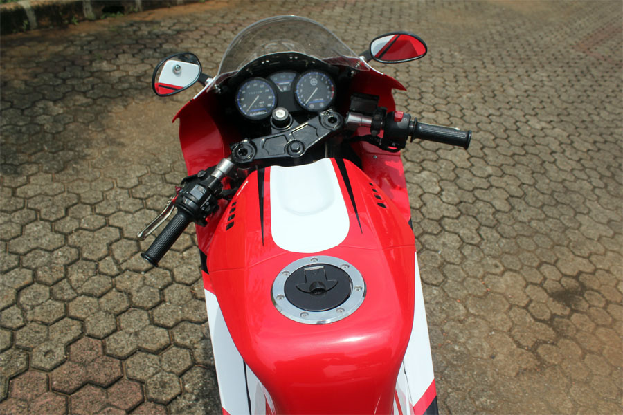 Foto Modifikasi Yamaha V Ixion