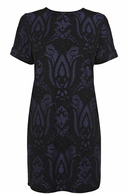 warehouse jacquard dress