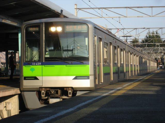 京王電鉄 各停 東府中行き3 都営10-300形(土日運行)