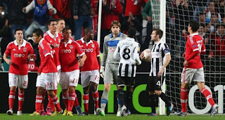 Video Gol Benfica vs Newcastle United 5 April 2013