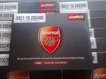 simPATI Arsenal | OneStopPulsa.blogspot.com