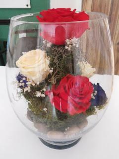 Rosas Naturales Preservadas Rojas, crema y azules ¡Duran 4 Años! Santa Ana, El Salvador