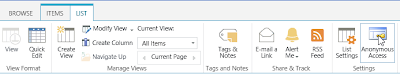 SharePoint Online Anonymous Access