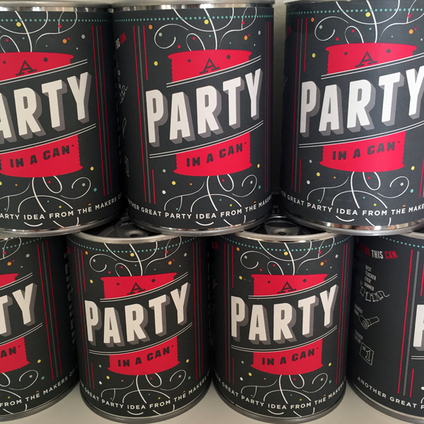 Teacher Appreciation Party In a Can
