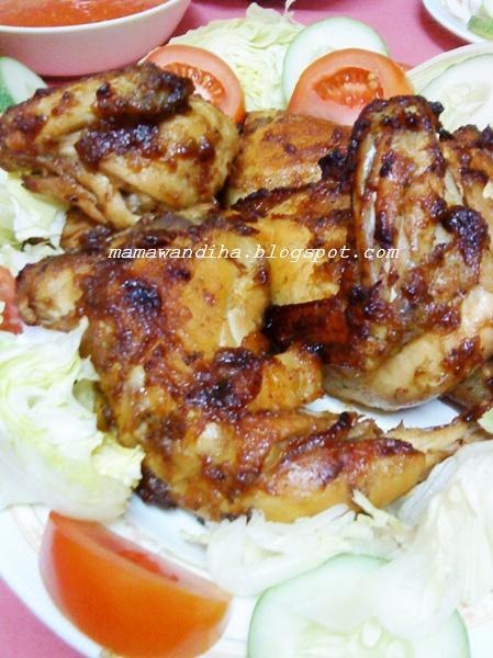 Resepi Ayam Panggang Madu Ayamas