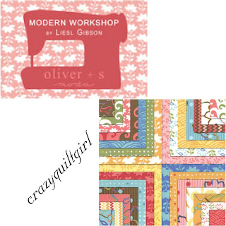 Moda MODERN WORKSHOP Quilt Fabric by Liesl Gibson for Oliver + S for Moda Fabrics