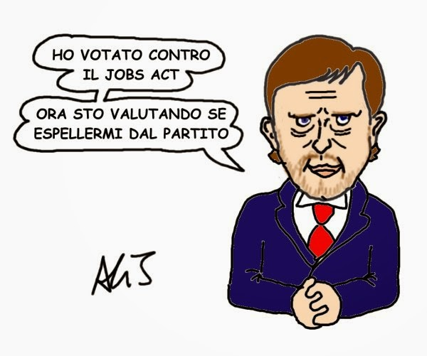 Civati, jobs act, satira