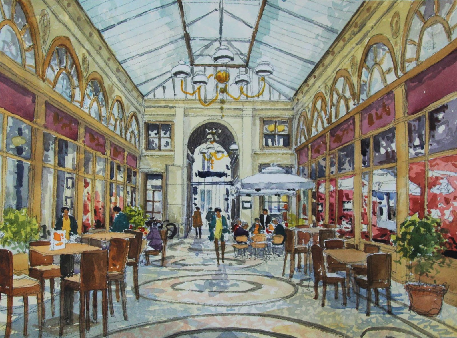 Jean Charles Decoudun Galerie Vivienne Paris