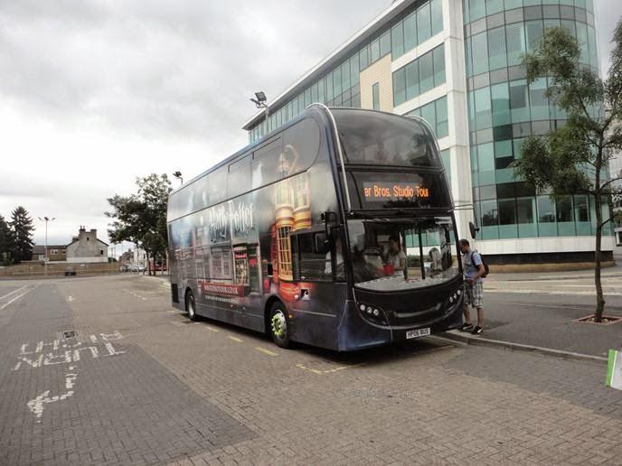 O ônibus - Visitando os Estúdios de Harry Potter em Londres