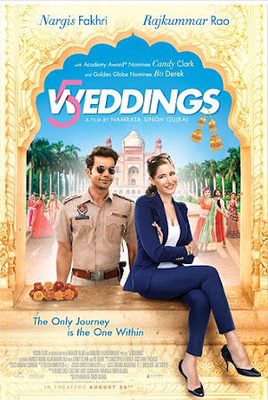 Poster Of Bollywood Movie 5 Weddings 2018 300MB Pdvd Full Hindi Movie
