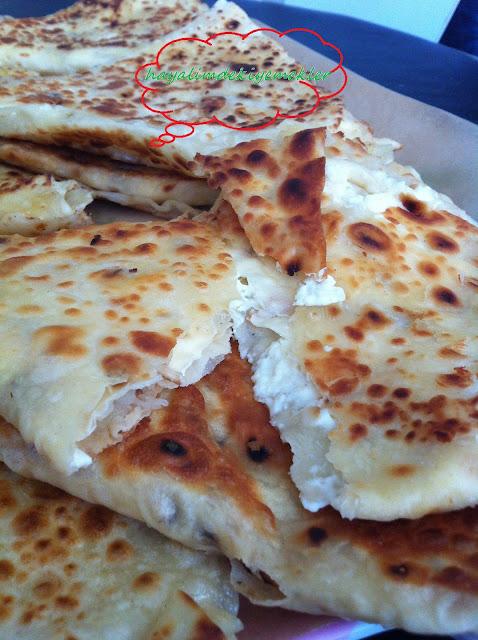 Kuru Yufka ile Tava Böreği tarifi,kolay degisik resimli  borek tarifleri