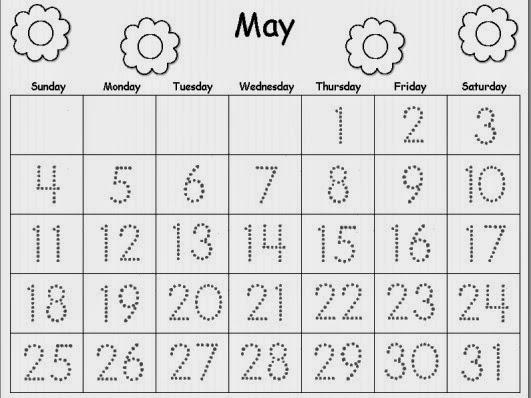 May Calendar Pieces : U calendar new template site