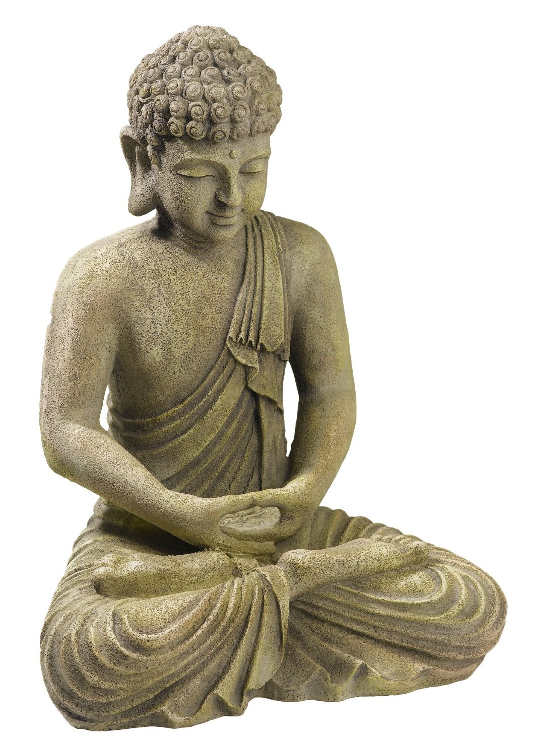 meditating buddha statue for home garden buddha statues. Black Bedroom Furniture Sets. Home Design Ideas
