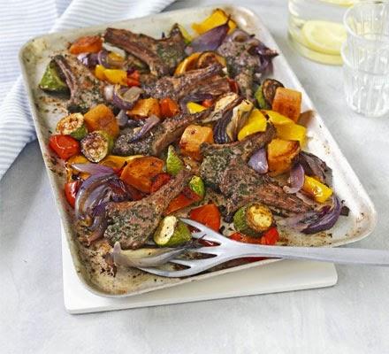 Lamb Lamb and more Lamb Recipe Ideas to Share! Lamb%2Bcutlets%2Bherbs