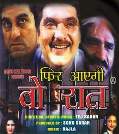 Phir Aayegi Woh Raat 2001 Hindi Movie Watch Online