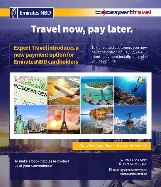 Travel now, Pay later!