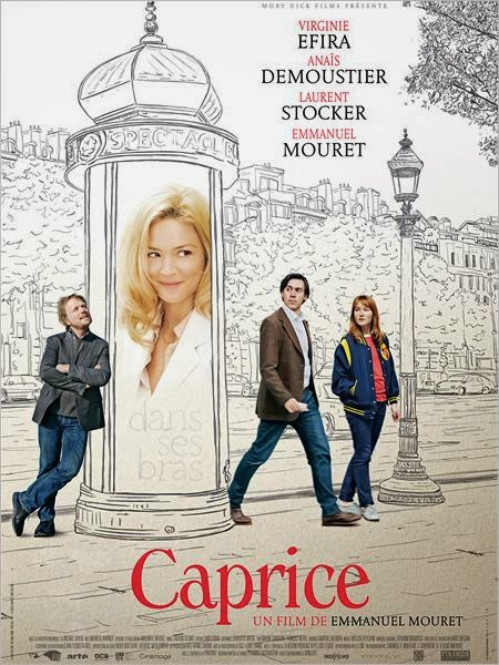 Film Caprice Emmanuel Mouret Virginir Efira Sortie au Cinéma avril 2015 Anais Desmoutier, Caprice film Woody Allen à la Française