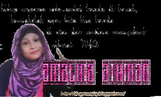 amalinaathman♥duniaku berputar♥
