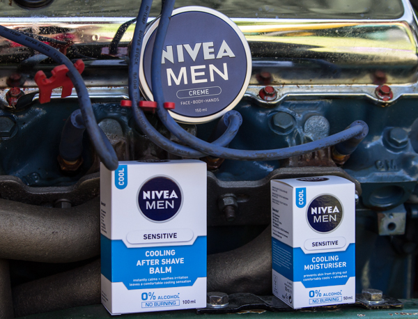PauMau blogi nelkytplusbloggari nelkytplus nivea nivea men miesten sarja ihovoide hoitovoide tuoksu tuoksumuisto rasva cooling moottori v8 pick up chevrolet