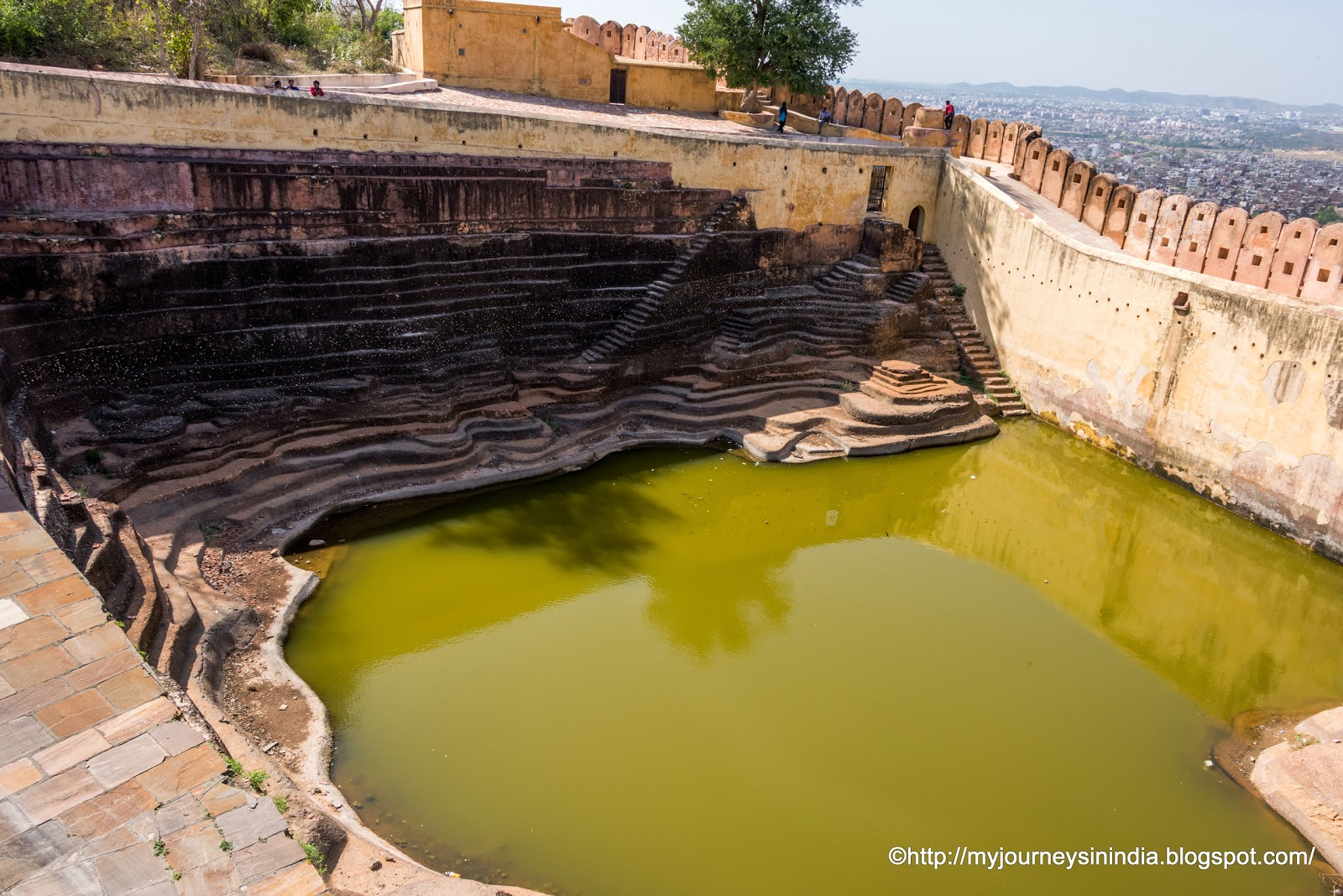 Water storage Nahargarh Fort Jaipur
