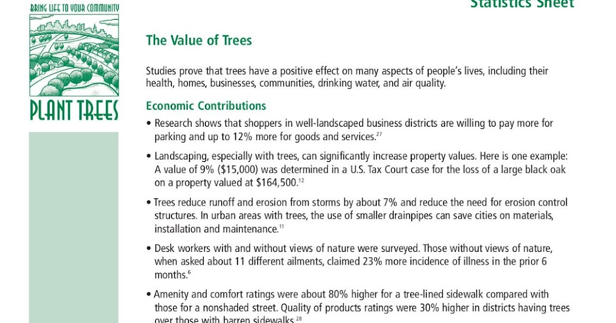 spreading greenery essay