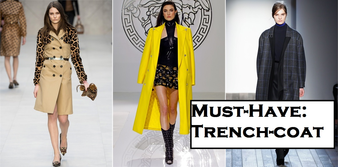 Style List: Must-have: Trench-coat