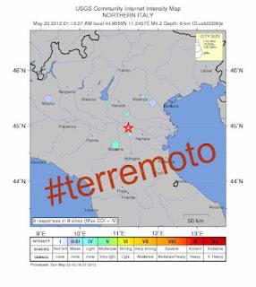 terremoto su twiteer