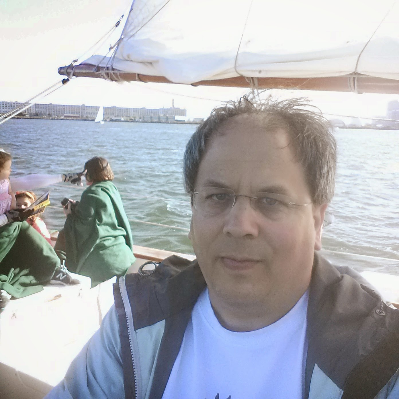 Sailing the Adirondack III in Boston