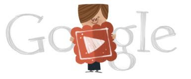 Google Celebrating Valentine's Day
