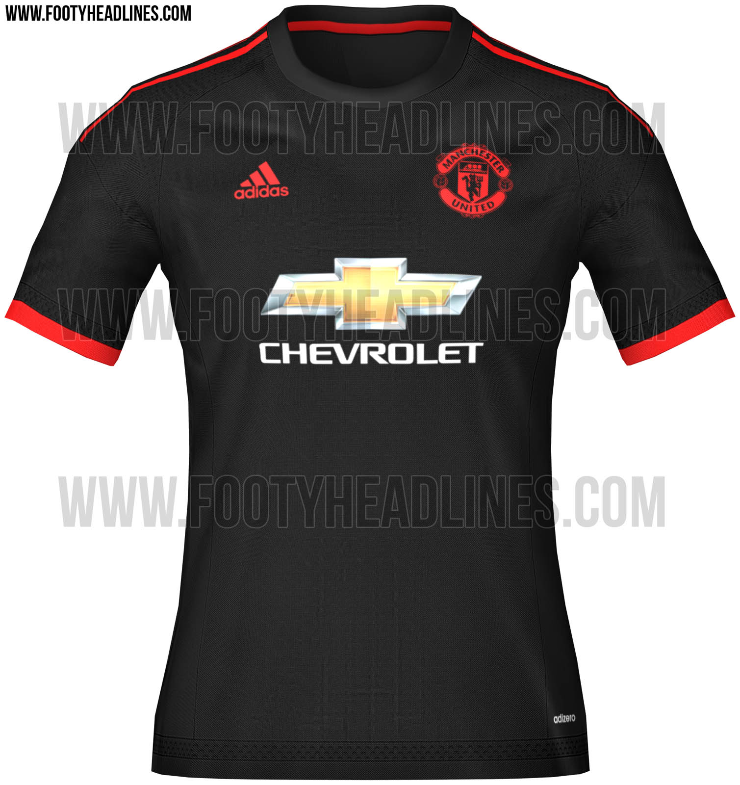 Manchester United Jersey Home Away And Third Kits Release