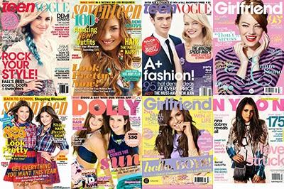 ティーン向け雑誌の表紙まとめ 人気のある女の子 It Girl は誰?(2012、2013年版)