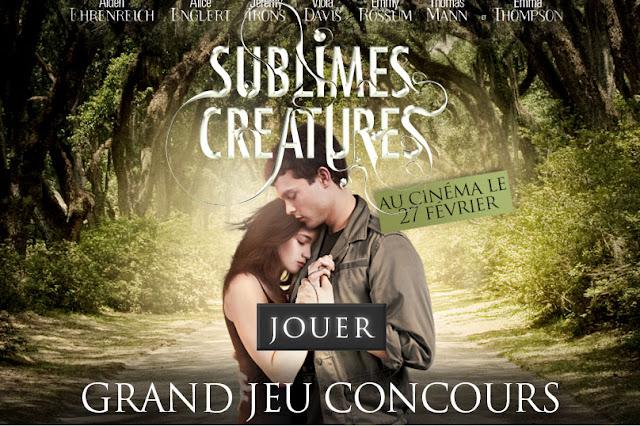 150 lots de 2 places pour le film Sublimes créatures +  50 livres
