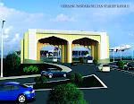 Gerbang baru Bandara SSK II