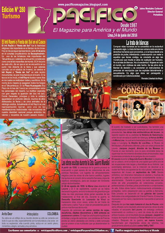 Revista Pacífico Nº 280 Turismo