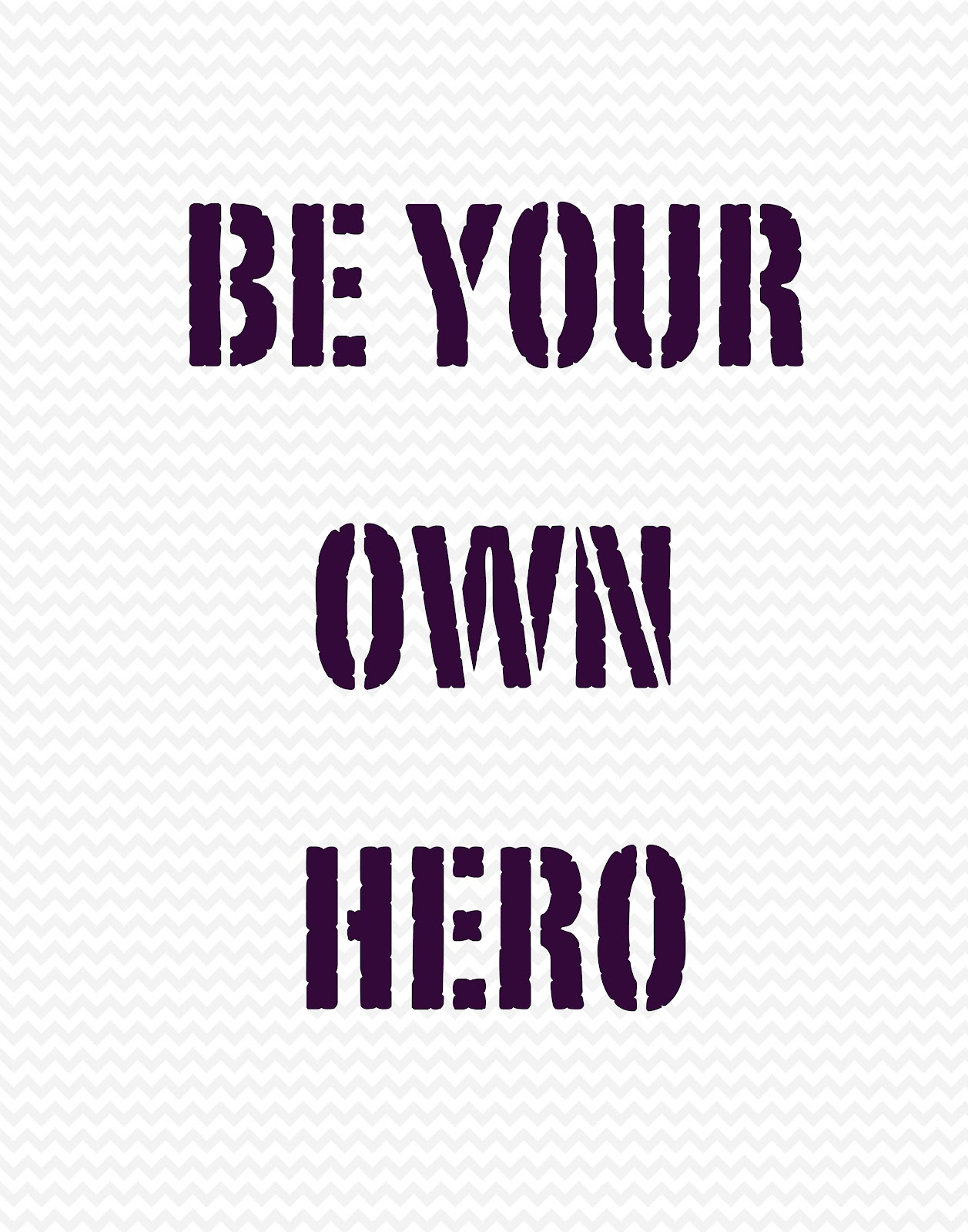 THE VIEW FROM MY PENCIL: Be your own hero