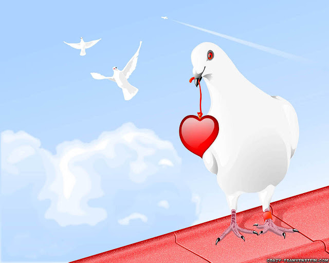 Love Birds Wallpaper For Mobile : Wallpaper Gallery: Love Wallpaper - 33