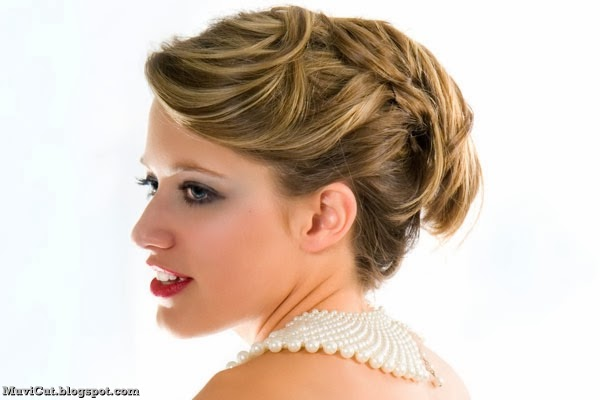 12 Cute and Easy Updos for Long Hair - MuviCut Hairstyles for Girls
