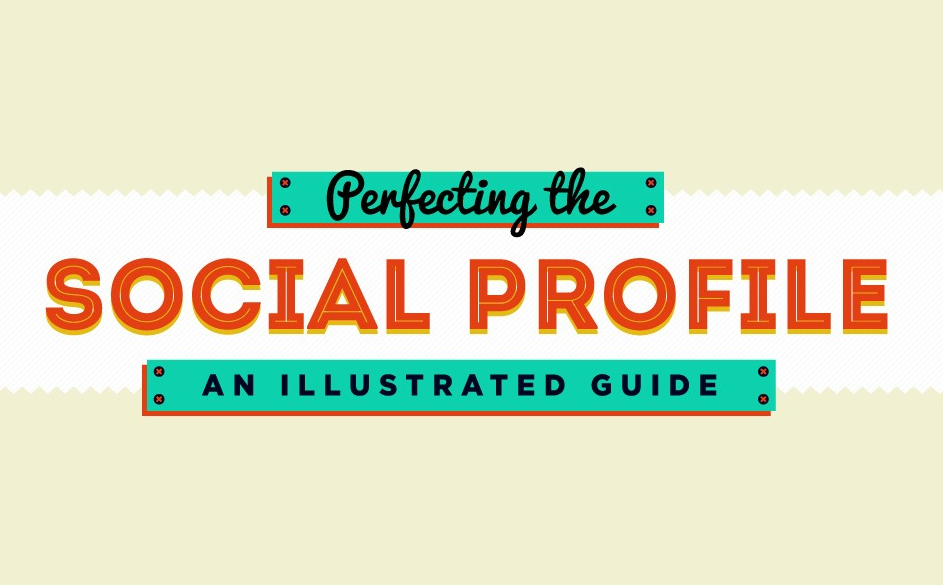 The elements of great social media profile #infographic #socialmedia