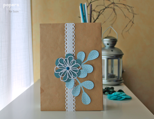 Crafting Ideas From Sizzix Uk Decorative Gift Wrap