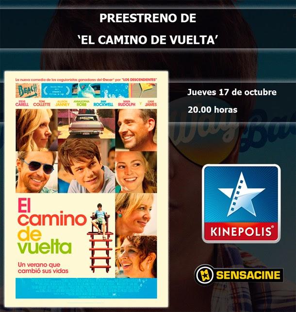 """5 entradas dobles para ver """"El Camino de Vuelta"""""""