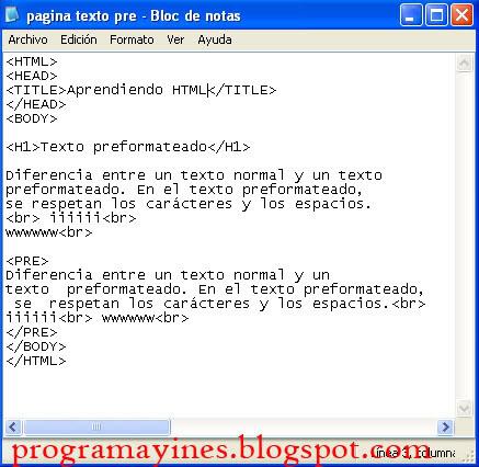 Diseno De Paginas Web Jsp Sesion 2 Formato De Texto - Espacio-en-blanco-html