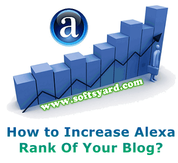 how to increase alexa rank of my blog