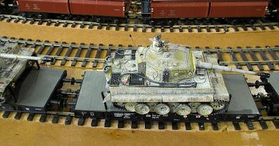escala 1 militar lleida expo tren  salon ferroviario 2013