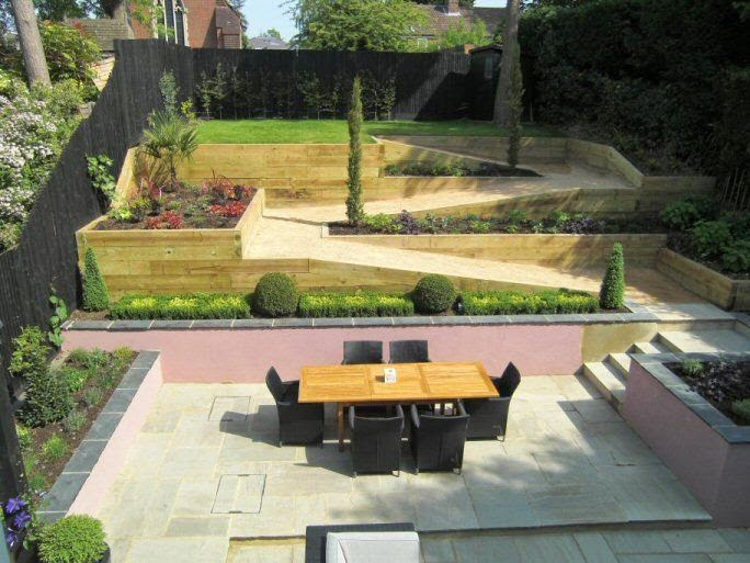 A Life Designing: How to design a sloping garden - Part 1 ...
