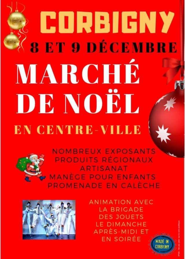 Marché de Noël à Corbigny  en Centre - Ville