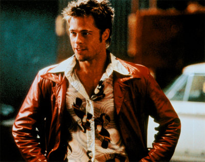 brad pitt fight club buzz cut - photo #20
