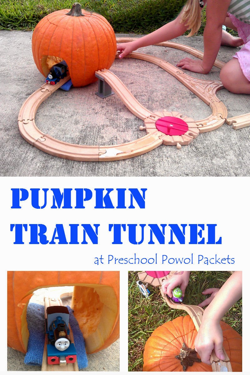 This is an image of Tactueux Pumpkin Crafts for Preschoolers