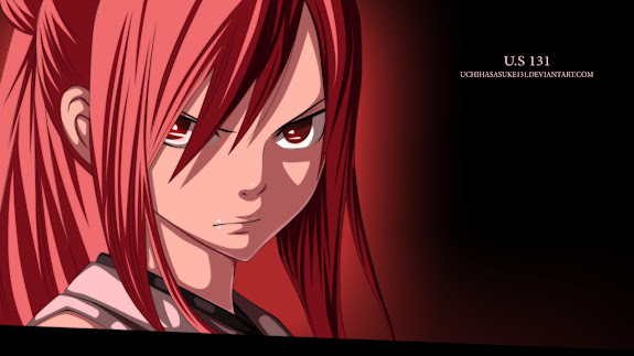 erza scarlet fairy tail girl anime hd wallpaper